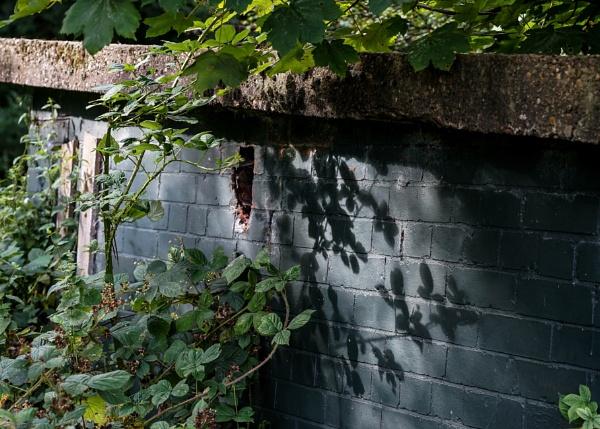 Air raid shelter Shadows by civitas