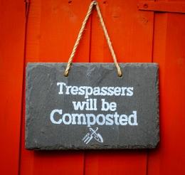 Trespassers Beware!!!!