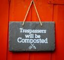 Trespassers Beware!!!! by Nikonuser1