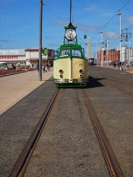 Vintage Tram by victorburnside