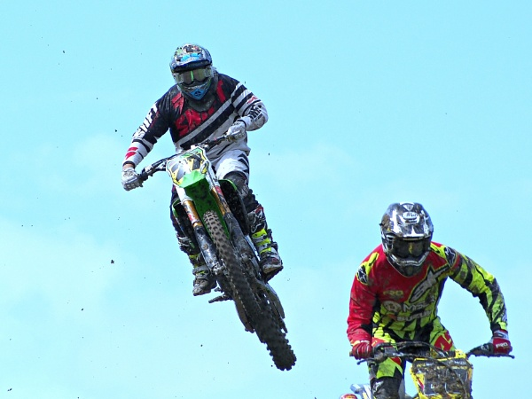 Some mid air action at Foxhill moto X. by brandish