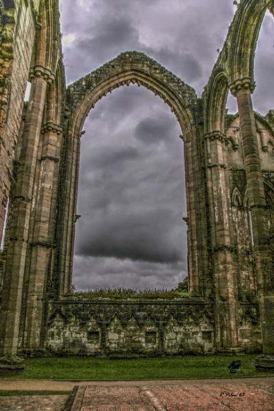 Fountain Abbey Chapel Window by RPilon63