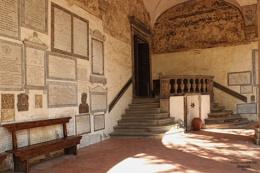 Part of The Cloisters - Basilica  di Santa Pirito, Florence