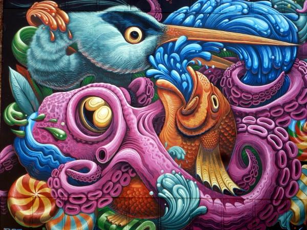 Wall Art, Halifax Nova Scotia, Canada by Don20