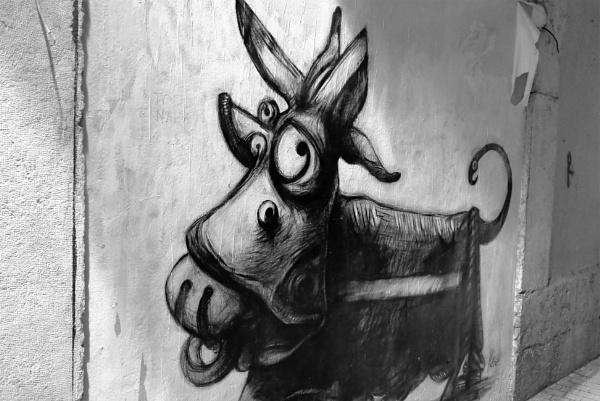 Street art, Malaga by tonycullen