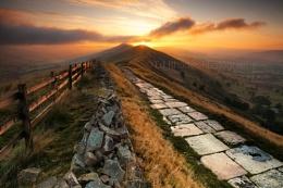 Peaks sunrise