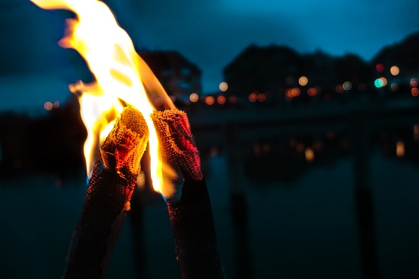 Flames in the Dark. by KatrineJ