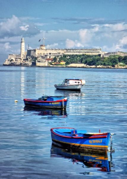 Havana harbour by brusque