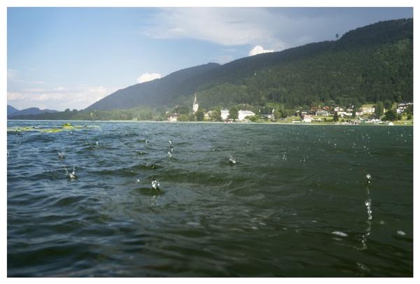 summer rain ( Ossiacher See /Carinthia) by bliba