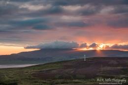 Kirkby Moor sunset