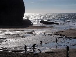 Llangrannog beach Ceredigion, Wales, UK