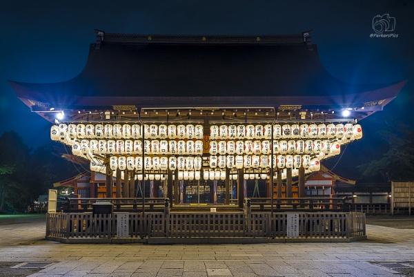 Yasaka Shrine at night - Kyoto, Japan by bridgendboy
