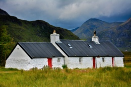 Black Rock Cottage, Glencoe, Scotland.