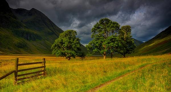 Early Morning Light Glencoe Scotland