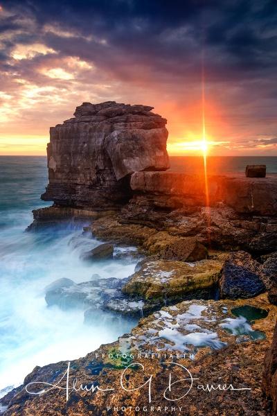 Sunset at Pulpit Rock by Tynnwrlluniau