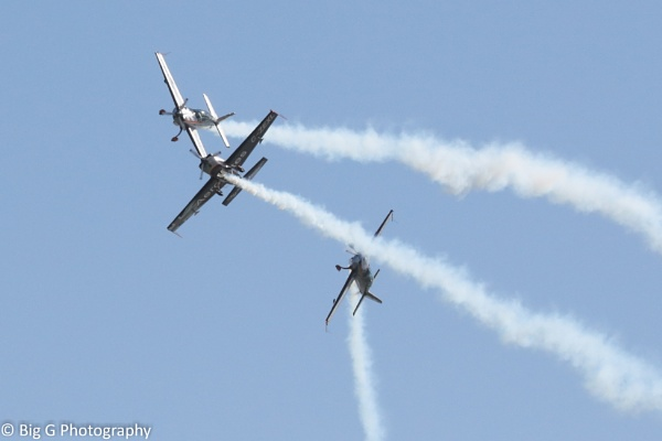 The Blades flying display team @ Eastbourne air show by GTX