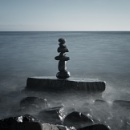 Zen and the art of rock balancing... by marktc