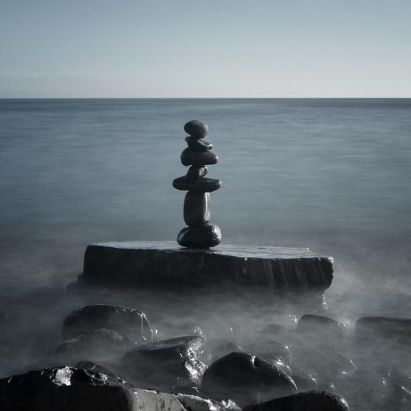 Zen and the art of rock balancing...