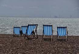 Brighton beach...
