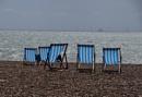 Brighton beach... by Chinga