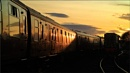Sunset at the Sidings by jeanie