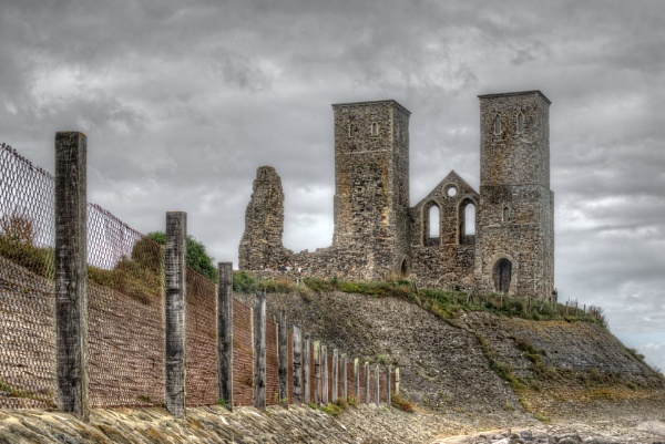 Reculver Towers by carper123