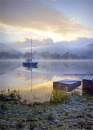 Ullswater winter  sunrise by deavilin