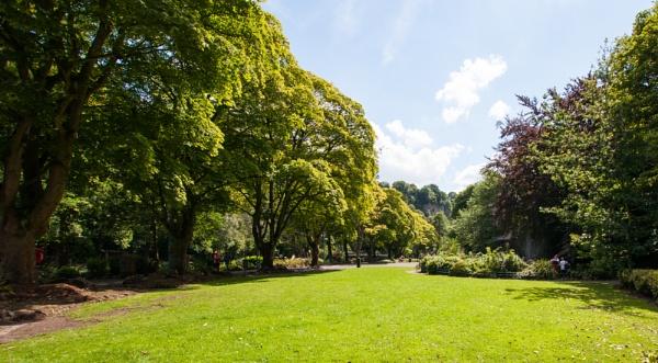 Parkland in Matlock Bath by nikonphotographer