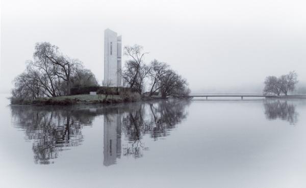 Carillion in Fog by BobinAus