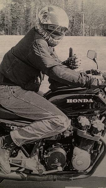 Honda CB900F by StevePushman