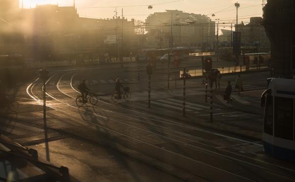 Amsterdam dawn by JanetAS