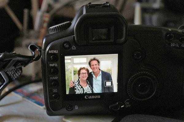 Monty Don & Rachel Doyle by jameswburke