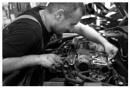 The mechanic trainee by bliba