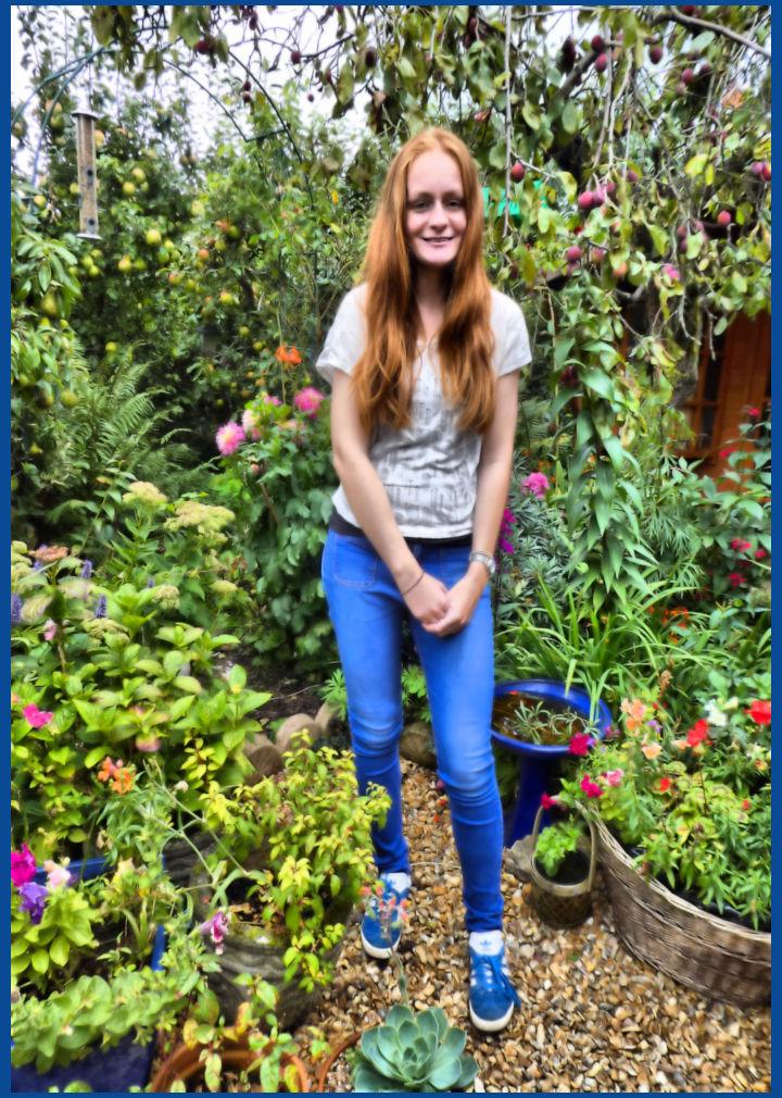A Girl In The Garden
