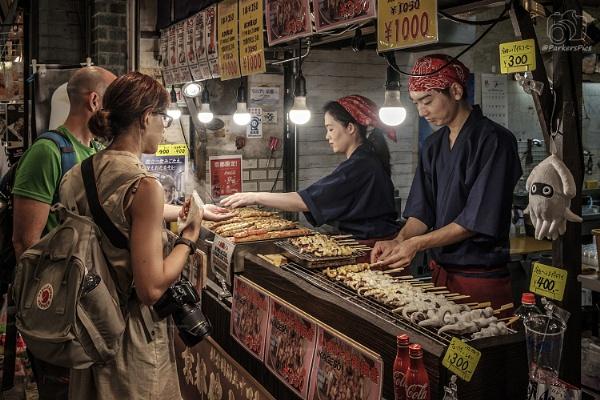 Japaese Market by bridgendboy