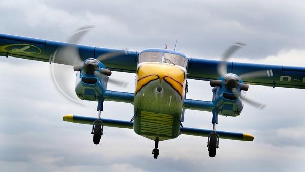 Dornier Do-28 by paulbroad