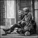 SDF's  -- Homeless In Quimper - Brittany by rogleale