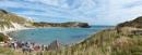 Lulworth Cove by Curtain