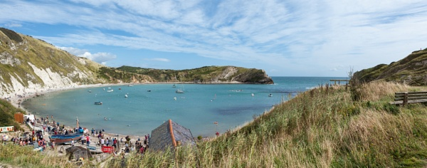 Lulworth Cove by Curtain