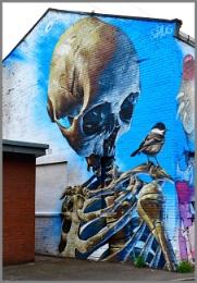 """Skull and Bird"""