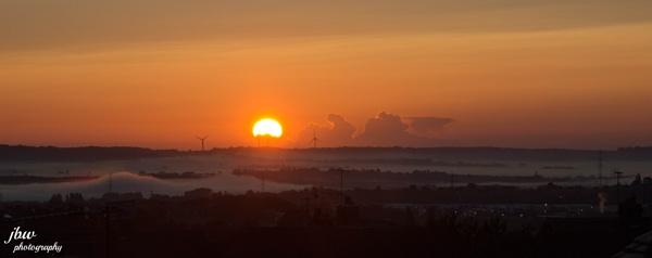 Foggy Sunrise by Jodyw17