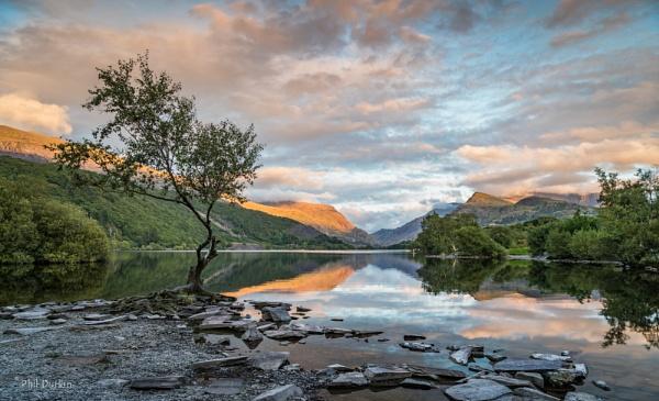 Lake Padarn Sunset by Philpot