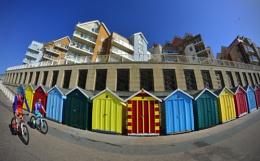 The Technicolor Dream Beach Huts!