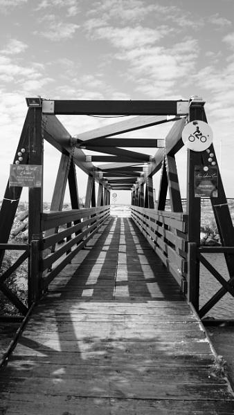 Footbridge by tonycullen