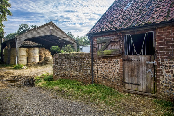 Stable and Haystore by sandwedge