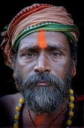 Young sadhu in Varanasi