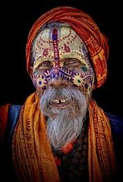 Happy sadhu