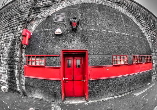 Red Tennants by AndrewAlbert
