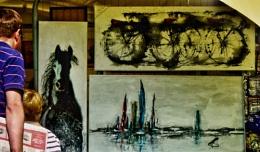 Village Green art show