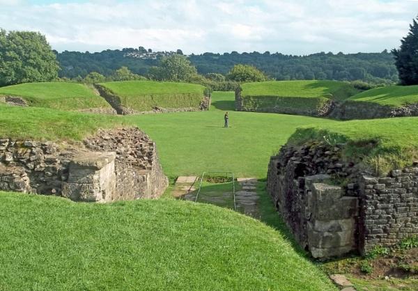 Roman Amphitheatre by Hurstbourne